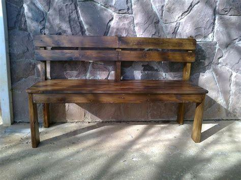 costruire una panchina in legno come costruire una panchina di legno per la veranda idee