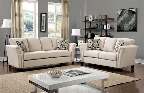 campbell ivory living room set  furniture  america