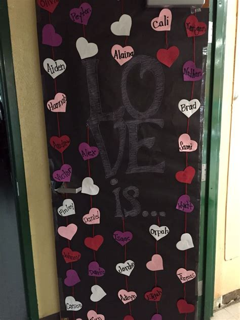 door decorations for valentines s day classroom door door decor