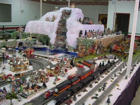 xmas village displays gauge  scale