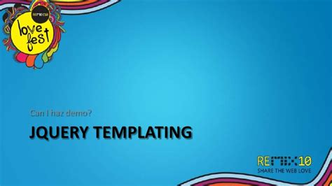 jquery templating microsoft and jquery a true story templating and