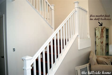 White Banister Rail by Stair Bannister Newsonair Org