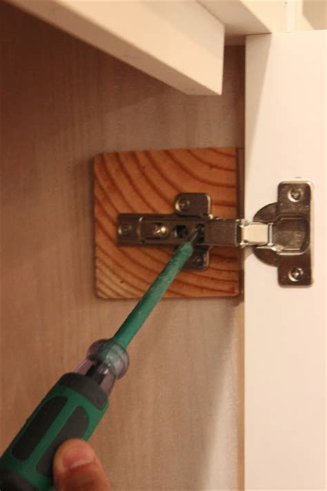 attaching hinges to cabinet doors diy built ins series how to install inset cabinet doors