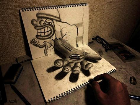 imagenes increibles en 3d 3d illustrations pop out from the sketchbooks of nagai