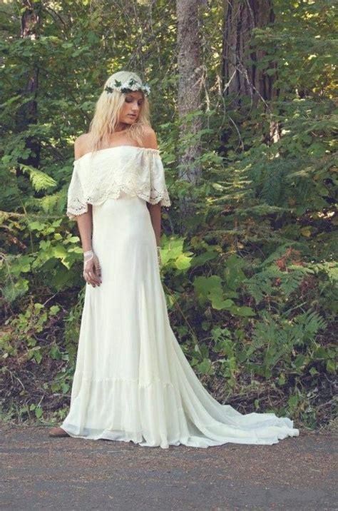 Bezahlbare Brautkleider by Brautkleider Im Boho Stil Der Hei 223 Este Trend F 252 R Ihre