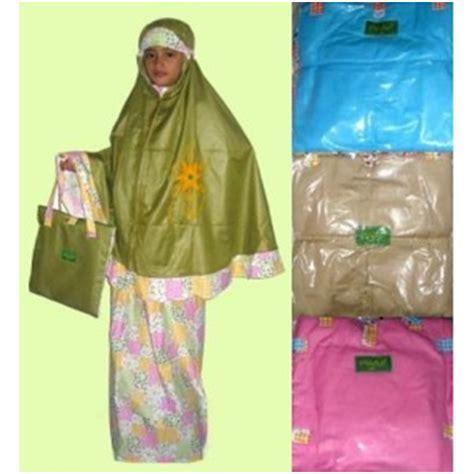 Jilbab Serut Anak Kombinasi baju muslim kaamiliyah mukena anak cantik dan murah