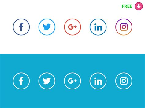 Free Social Media Search Social Media Vector Icons Freebie Supply