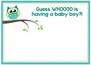 free baby templates free printable owl baby shower invitations other