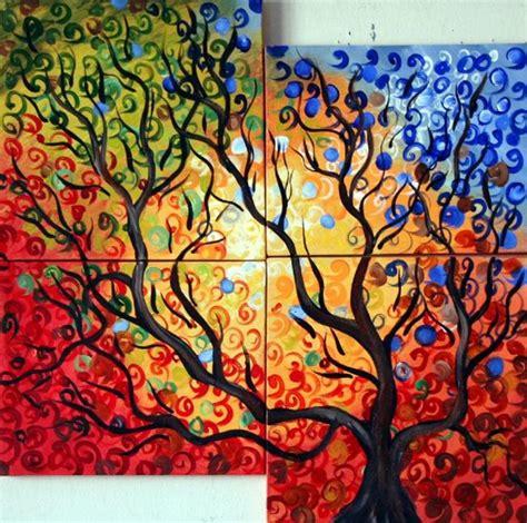 Painting 4 Seasons by Selecting Your Season Icygnet