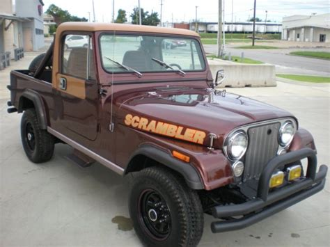amc jeep scrambler 1984 amc jeep scrambler laredo low just out of a