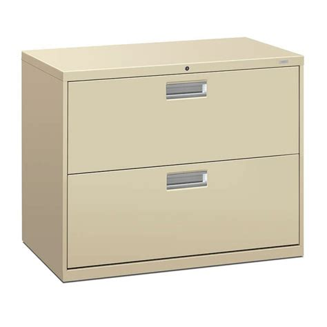 Lateral File With Storage Cabinet Hon Brigade 2 Drawer Lateral File Cabinet Atwork Office Furniture Canada