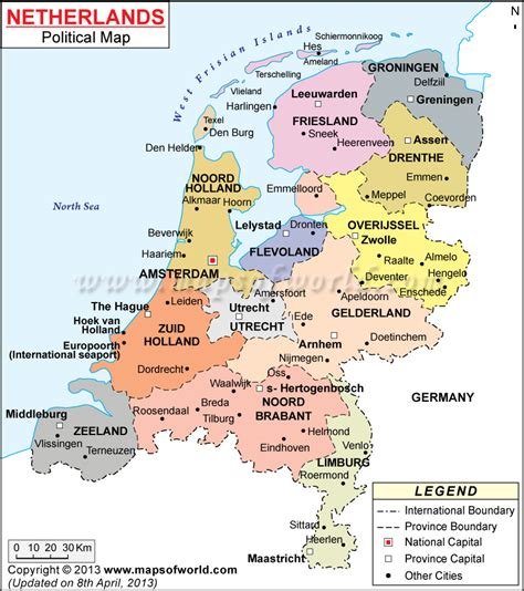 netherlands capital map map of netherlands with cities search maps
