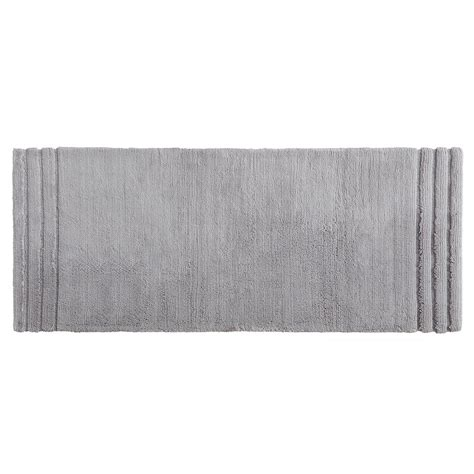 24 X 60 Bath Rug Mohawk Empress 24 In X 60 In Cotton Runner Bath Rug In Gray 079360 The Home Depot