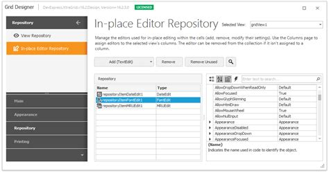 repository pattern web forms repositories and repository items editors and simple
