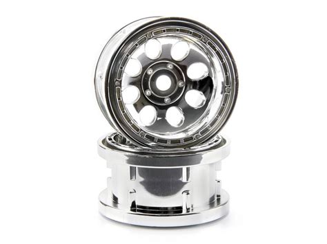 Rc 2pcs Ban Velg Tire With Wheel Set Sand Type For 1 8 1 10 1 12 Hex17 hpi 3213 rock 8 bead lock wheel chrome 2 2 quot 55x36mm 2pcs l 248 ten rc shop as
