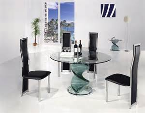 Circular Glass Dining Table And Chairs Twirl Glass Dining Table Portofino Glass Dining Table Glass Table