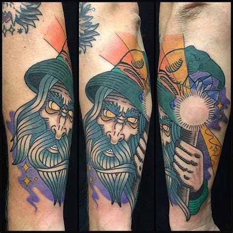 california electric tattoo electric tiger wizard