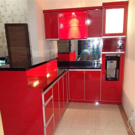 Lemari Dapur Di Bandung jual kitchen set minimalis bandung lemari dapur rak dapur interior ba miraclee shp