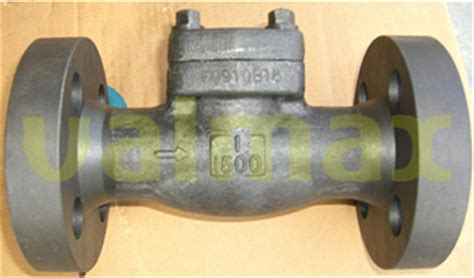 1 inch swing check valve check valve 1500 lb 1 inch swing type bolted cap valmax