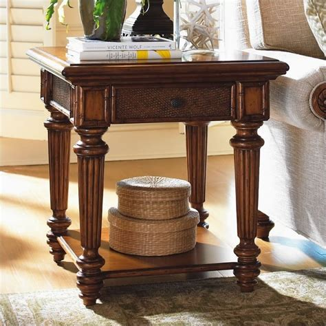 Bahama End Tables by Bahama Home Island Estate Boca End Table In