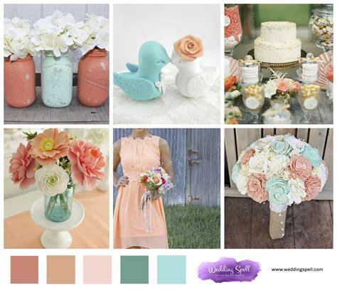 2017 color schemes spring wedding colours 2017 mini bridal