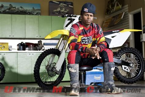 ama motocross sign stewart signs with yoshimura suzuki