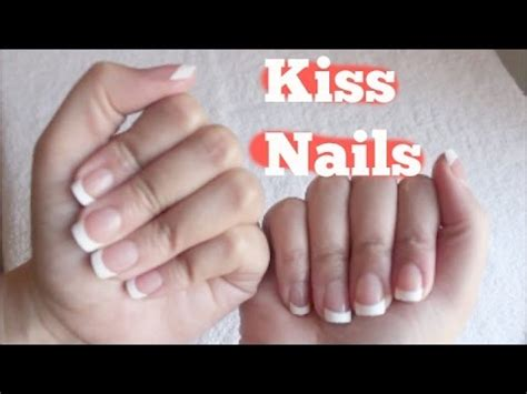 french kiss tutorial youtube diy kiss nails everlasting french manicure youtube