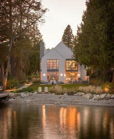 home tour anne hepfer s rustic modern lake house lakes designers home tour anne hepfer s rustic modern lake house 白の