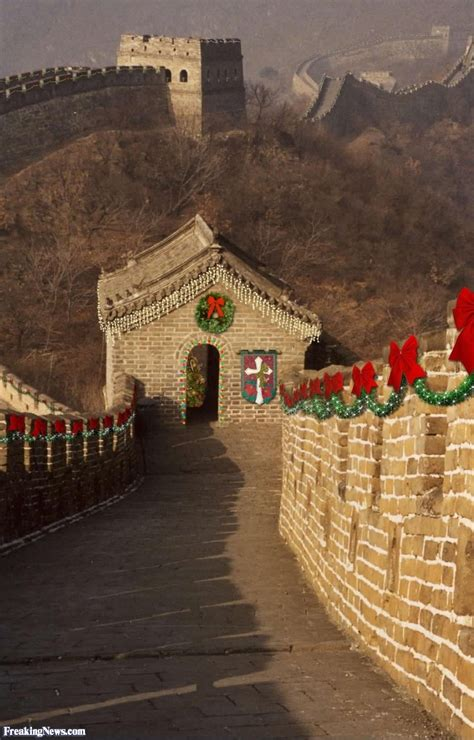 great wall of china christmas decorations pictures