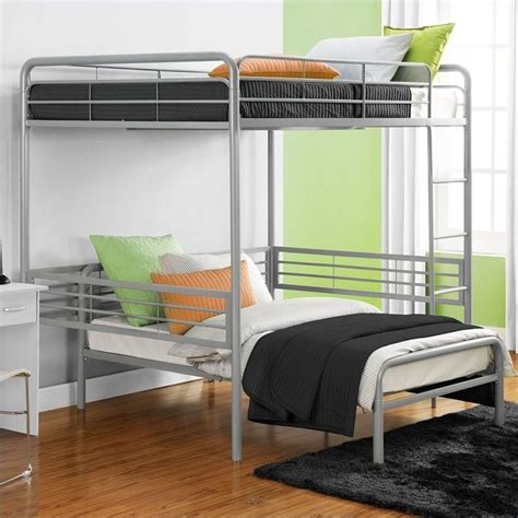 Dhp Loft Bed by Dhp Metal Loft Bed Silver Ebay