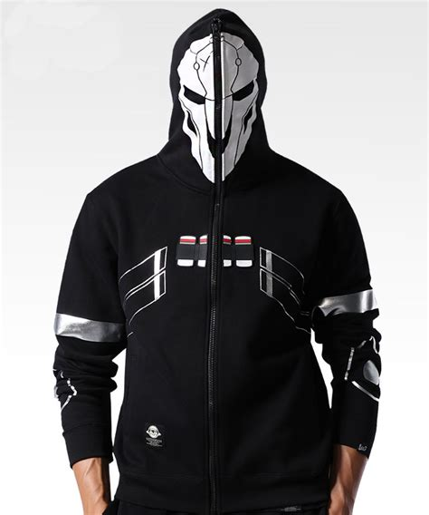 overwatch reaper hoodies mens zip up ow sweatshirts blizzard overwatch