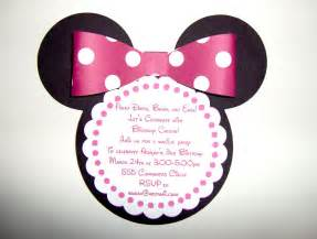 minnie mouse invitation template cyberuse