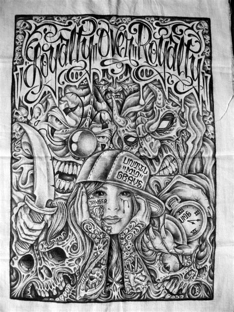 chicano art tattoos prison artist mind prison chicano