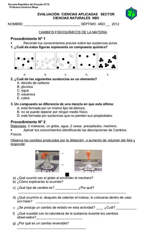 que preguntas de matematicas hacen en el icfes pp 7 186 gu 237 a cambios f 237 sicos y qu 237 micos 2012