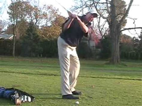 swing right the right side golf swing one planeswing with bill