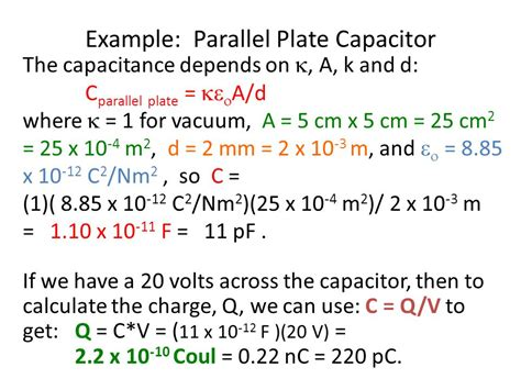 capacitance of capacitors depends upon the capacitance of a parallel plate capacitor depends upon 28 images electric energy and