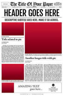 newspaper template for adobe indesign cs6 new