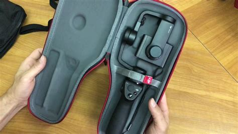dji osmo mobile carrying case unboxing youtube