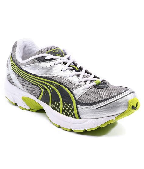 buy axis iii dp white sport shoes for snapdeal