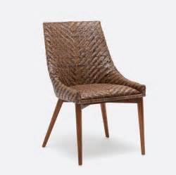 Wicker Dining Room Chair Woven Rattan Dining Chair Mecox Gardens