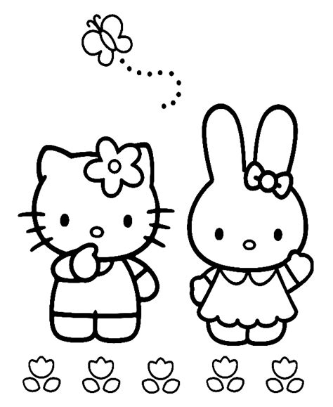 hello kitty coloring pages roll hello kitty kleurplaten kitty cathy