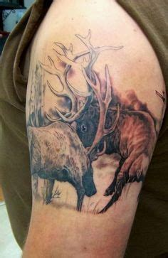 call of the wild tattoo 65 best fighting deer tattoos images on deer