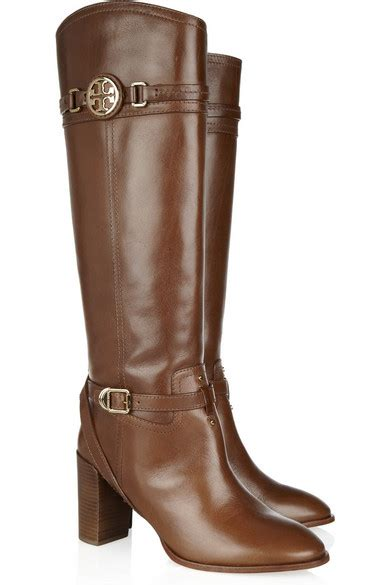 burch calista leather knee boots net a porter