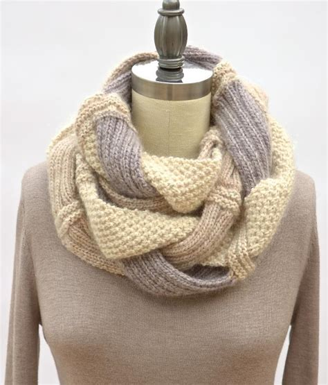 infinity scarf knitting patterns a knitting