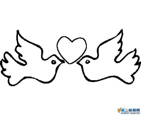 imagenes de palomas blancas para imprimir 桃花花简笔画大全大图内容图片展示 桃花花简笔画大全大图图片下载