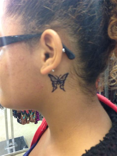 tattoo behind ear butterfly 156 best images about henna on pinterest lower backs