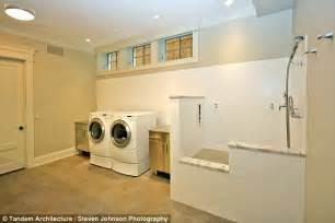 grooming room dallas inside s homes that come fitted with everything a pered pooch desires daily mail