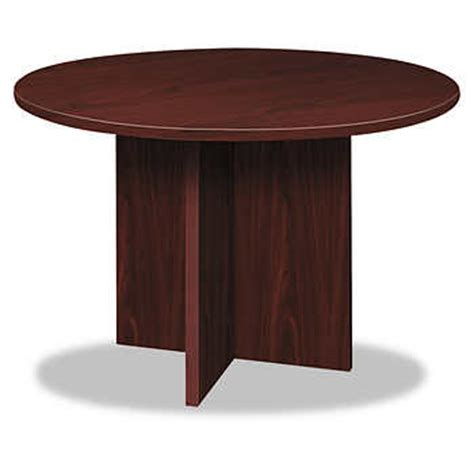 Hon Conference Table Basyx By Hon 48 Quot Conference Table Mahogany