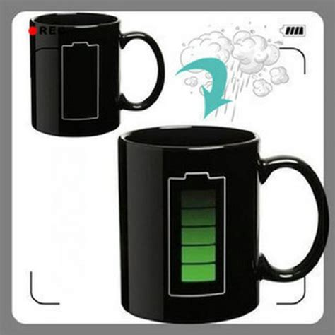 Magic Mug Cangkir Sensitif Suhu Motif Bohlam 400ml magic mug cangkir sensitif suhu motif baterai 400ml black jakartanotebook