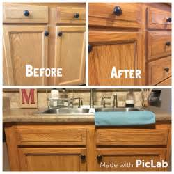 gel stain oak kitchen cabinets honey oak cabinets restained with genera finishes american oak gel stain cabinets are just a